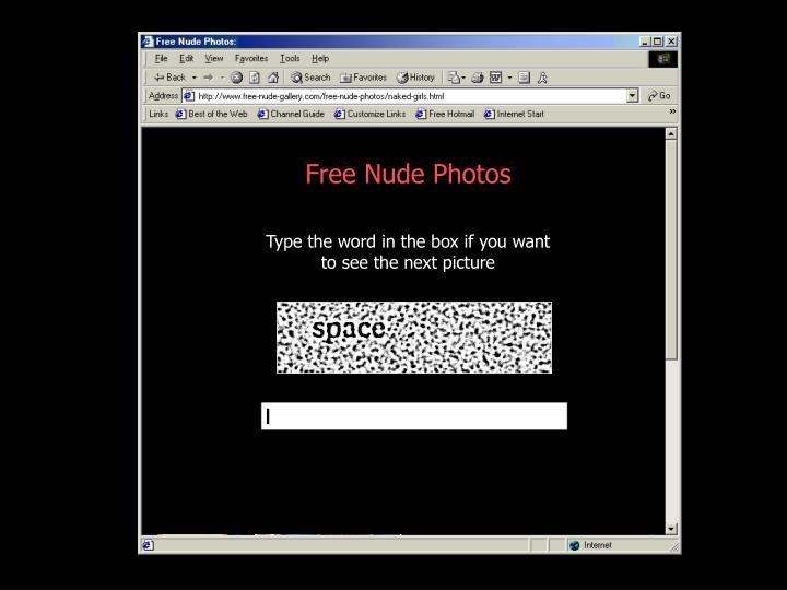 Free Nude Photos