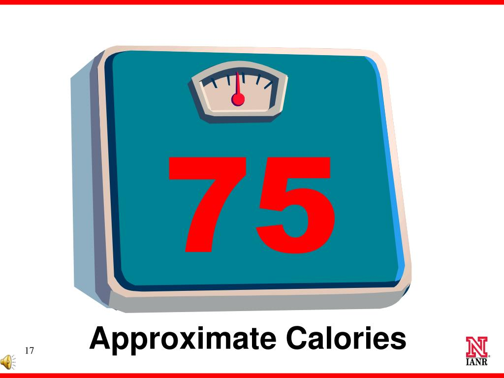Approximate Calories