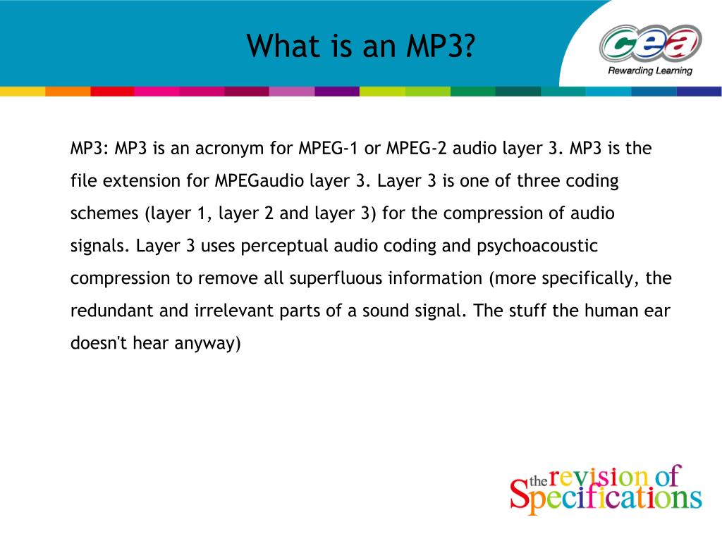 what is an mp3 l.