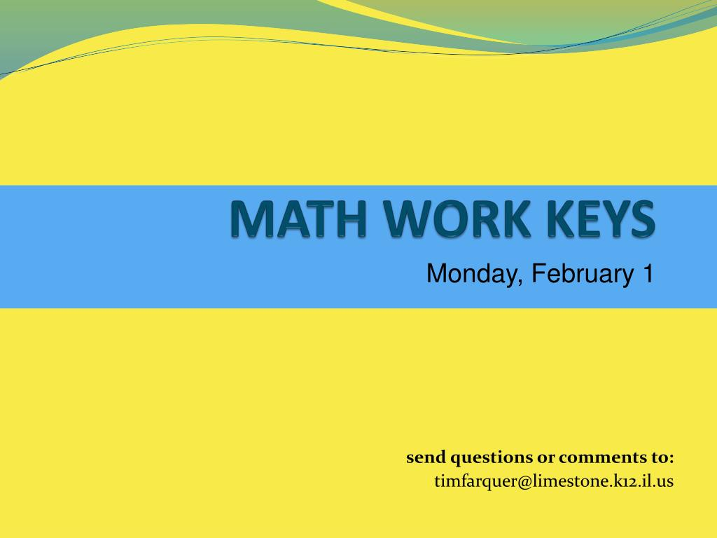 math work keys l.