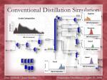 conventional distillation simulation