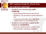 will meeting students where they are improve learning