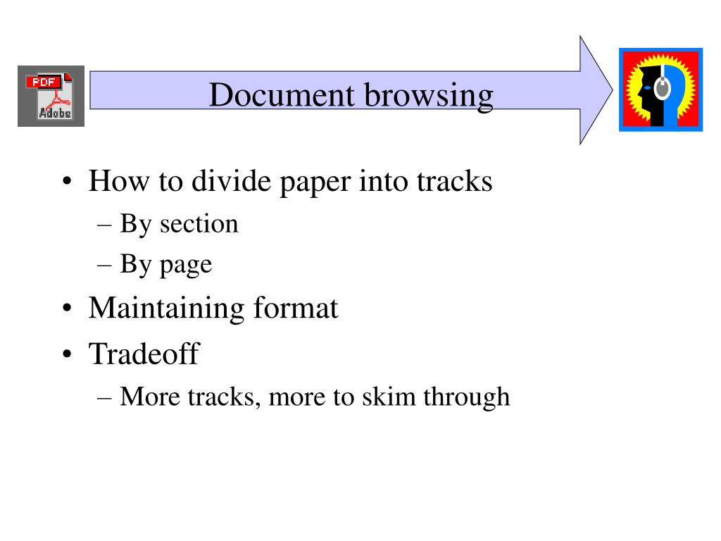 Document browsing