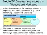 mobile tv development issues v alliances and marketing