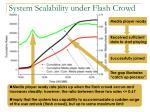 system scalability under flash crowd