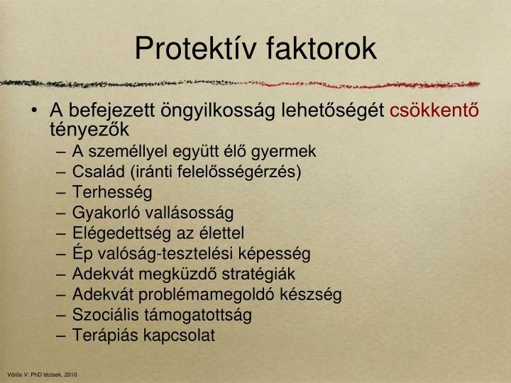 Protektív faktorok