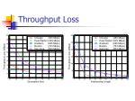 throughput loss