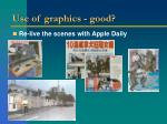 use of graphics good20