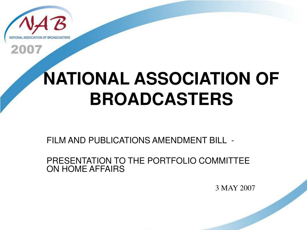 national association of broadcasters l.