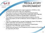 regulatory environment12