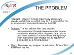 the problem23