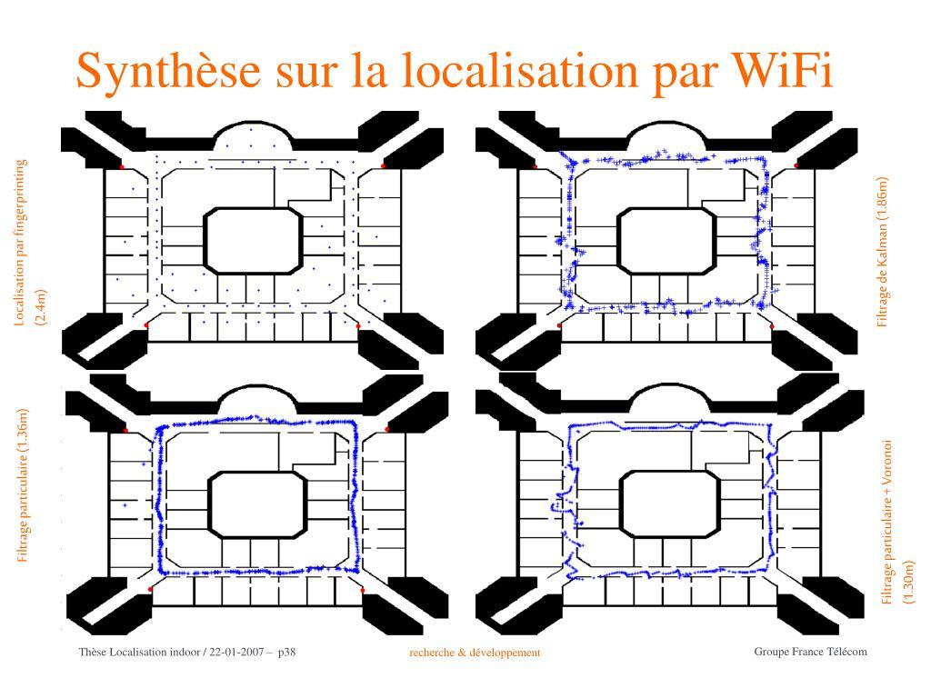 Synthèse sur la localisation par WiFi