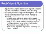 realvideo 8 algorithm26