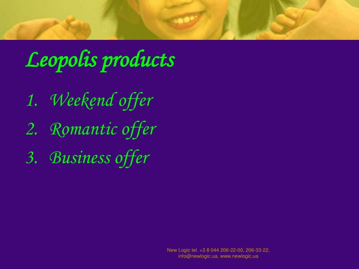 Leopolis products