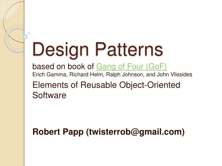 Ppt Design Patterns Powerpoint Presentation Free Download Id 486870