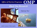 black sea research