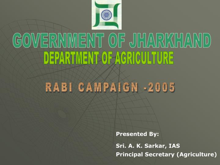 ppt on agriculter