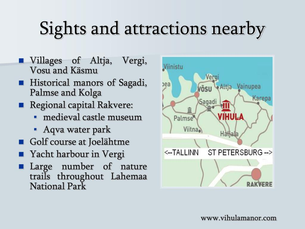 Sights and attractions nearby