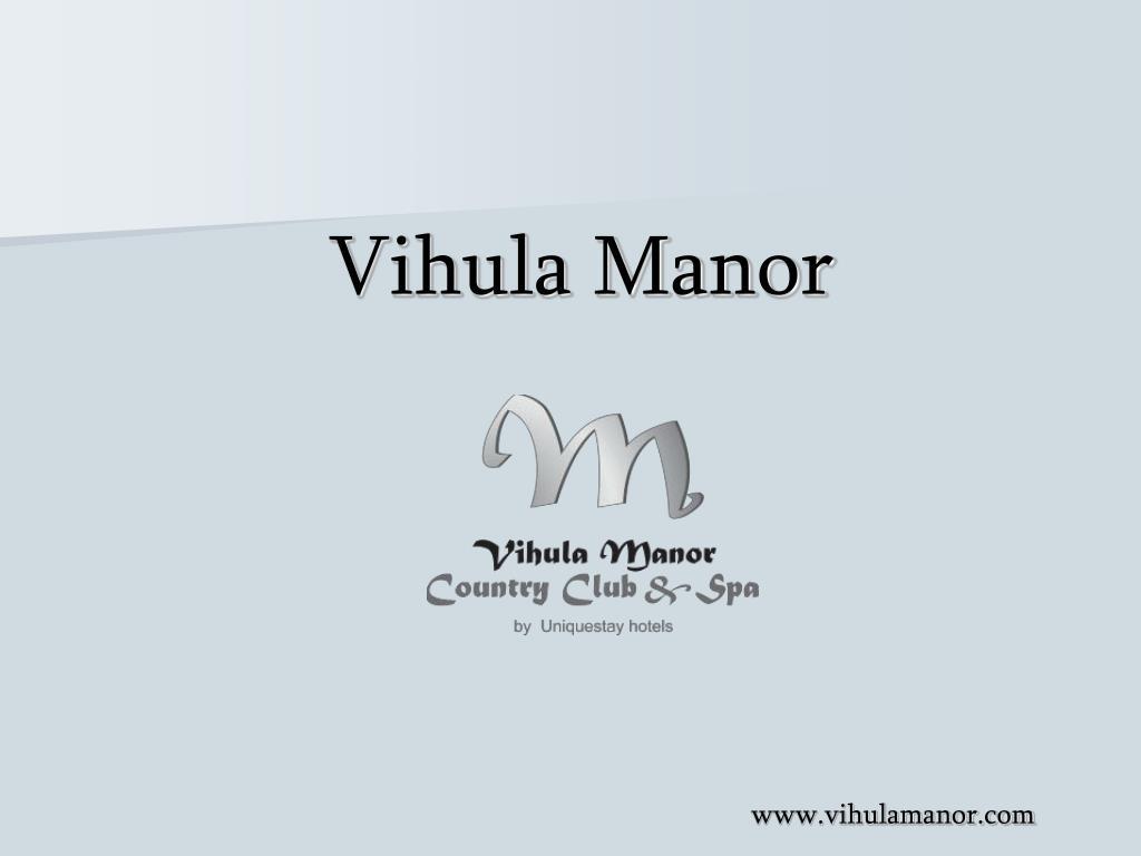 Vihula Manor