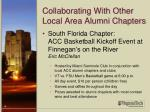collaborating with other local area alumni chapters