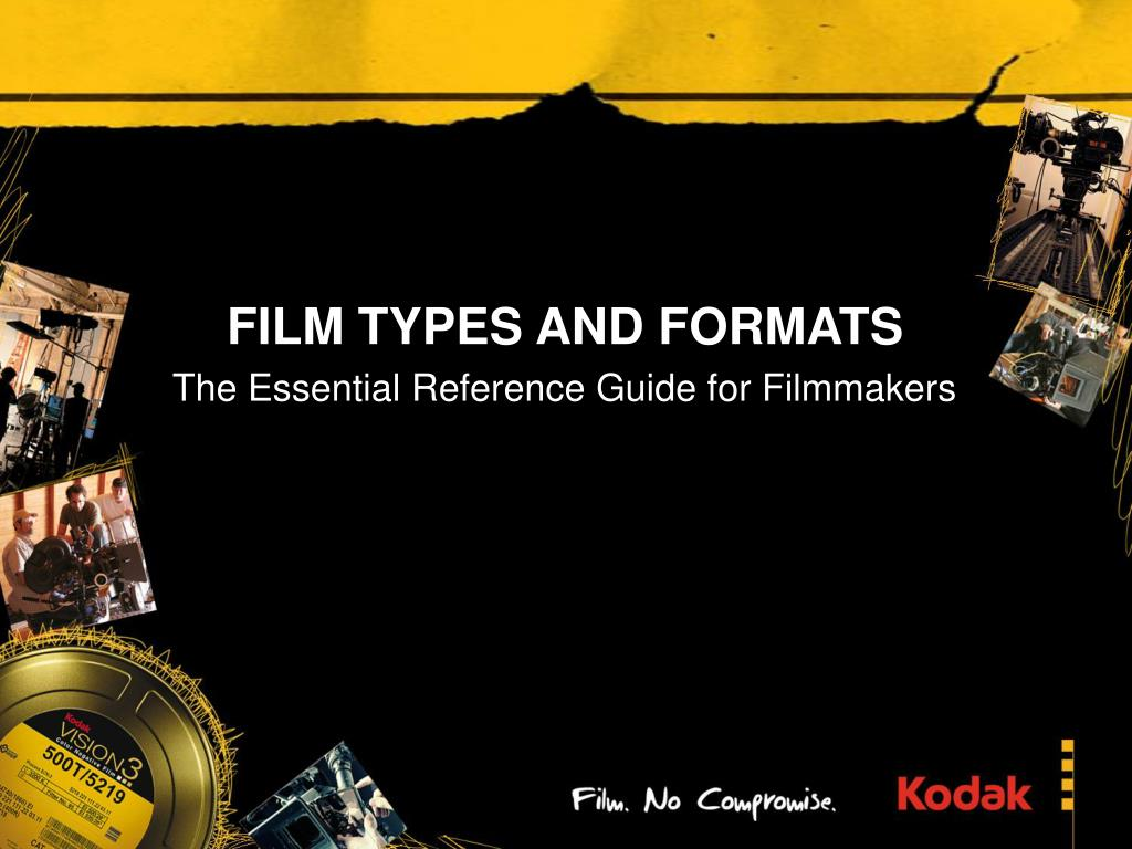 film types and formats l.