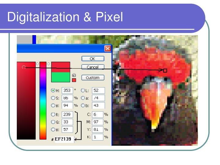 Digitalization pixel