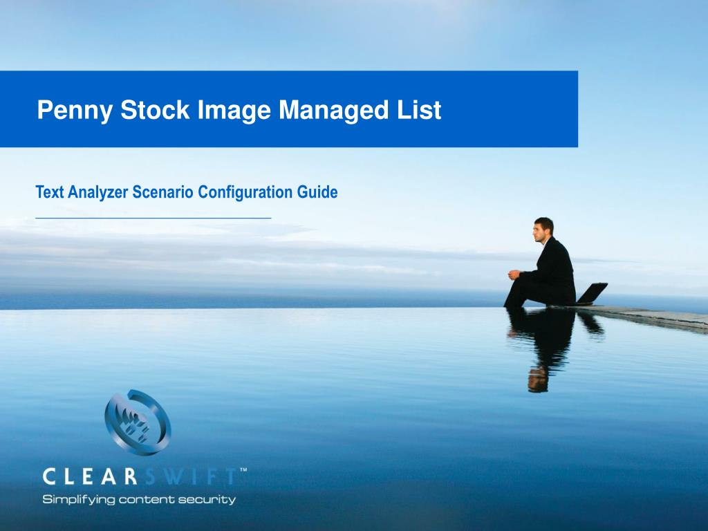 penny stock image managed list l.