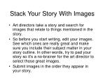 stack your story with images