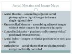 aerial mosaics and image maps