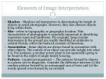 elements of image interpretation9