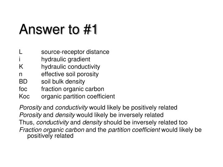 answer to 1 n.