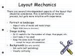 layout mechanics