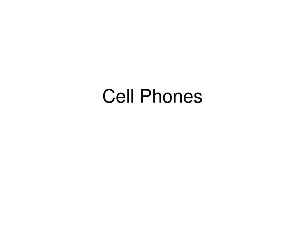 cell phones l.