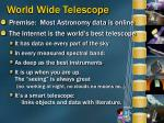 world wide telescope