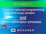 microcasting