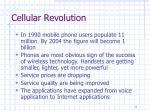 cellular revolution