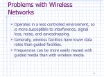 problems with wireless networks