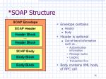 soap structure