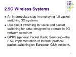 2 5g wireless systems