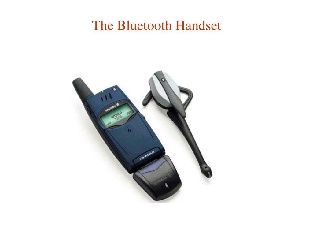 The Bluetooth Handset