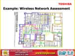 example wireless network assessment22