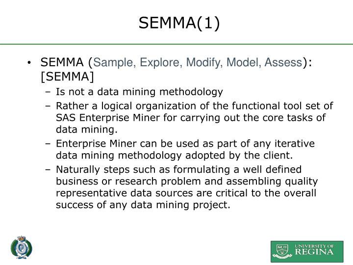 SEMMA(1)