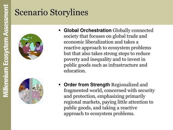 Scenario Storylines