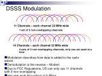 dsss modulation