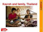 kayroh and family thailand