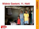 widnie gaetant 11 haiti