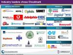 industry leaders chose cloudmark