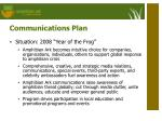 communications plan2