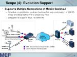 scope 4 evolution support