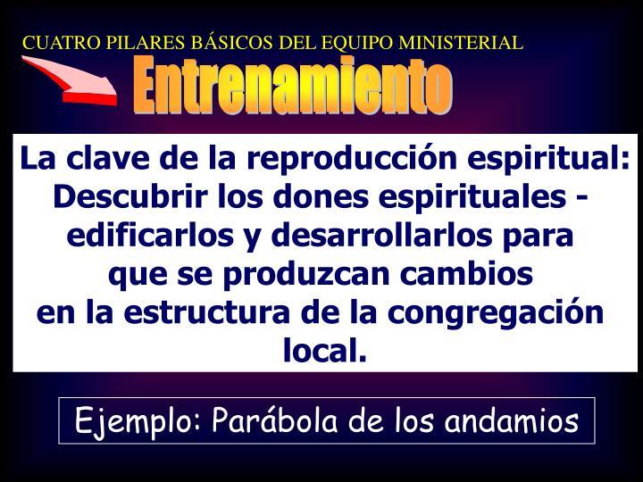 CUATRO PILARES BÁSICOS DEL EQUIPO MINISTERIAL